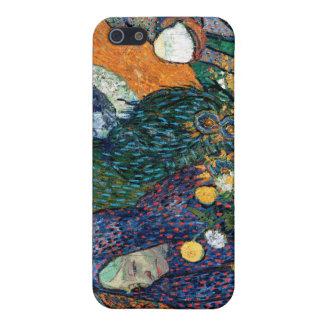 Ladies of Arles, Garden at Etten, Vincent Van Gogh iPhone 5 Case