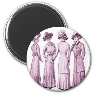 Ladies of the belle epoche. magnet