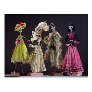 Ladies of the Day of the Dead, from Oaxaca Postcard