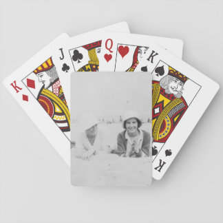 Ladies On Beach Image Standard Playing Cards