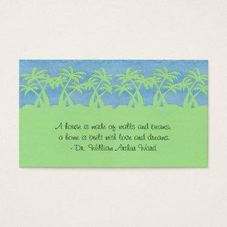 Ladies palm Tree Profile Cards