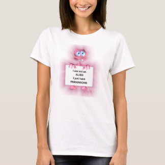 Ladies Parkinsons Disease Fun Tee Shirt
