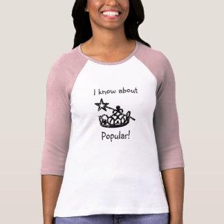 Ladies Popular Raglan T-shirt