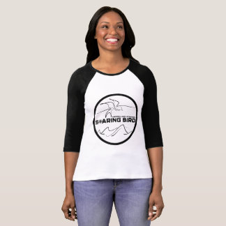 Ladies Raglan Soaring Bird Emblem T-Shirt