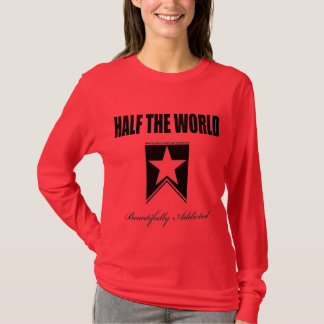 LADIES RED LONG SLEEVE T-Shirt