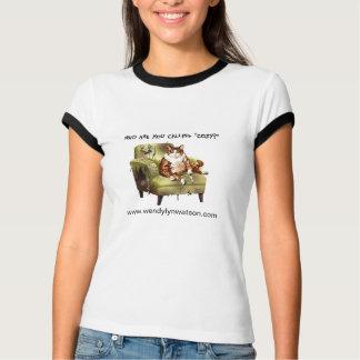 Ladies Ringer T - Cozy Chair T-Shirt