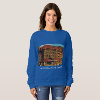 Ladies' Royal Blue Sweatshirt with Grove Park Inn