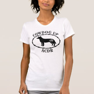 Ladies Scoop T Cowdog Up Arizona Cattle Dog Rescue T-Shirt