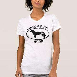 Ladies Scoop T Cowdog Up Arizona Cattle Dog Rescue T-shirts