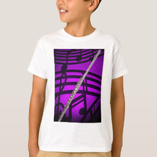 Ladies Shirt for FLute Player or Flutist