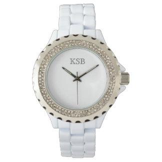 Ladies Simplicity Monogrammed Watch