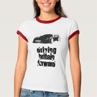 Ladies T-Shirt-driving-britain-forward T-Shirt