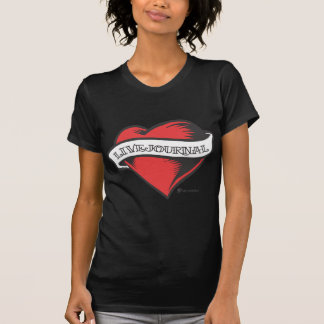 Ladies T-Shirt (LiveJournal Tattoo)