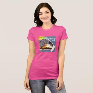 Ladies' T-Shirt with Bible Verse Imprint