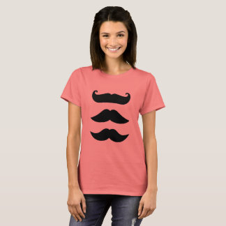 Ladies t-shirt with Mustaches