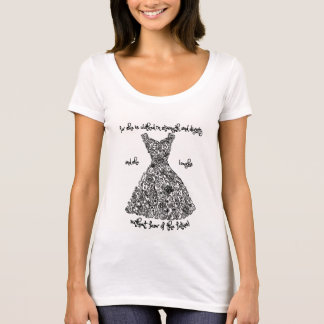 Ladies T-Shirt with the Famous Proverbs Dress