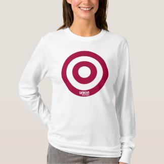 Ladies Target Fitted Hoody