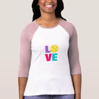 Ladies tennis tee shirt clothing top