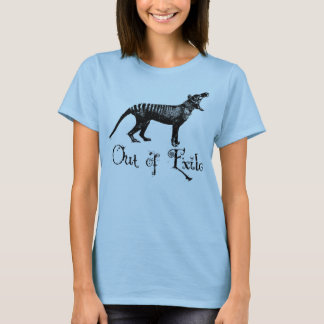 Ladies Thylacine shirt