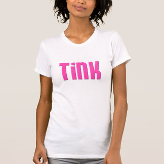 Ladies Tink-Shirt in Blockhead Pink T-Shirt