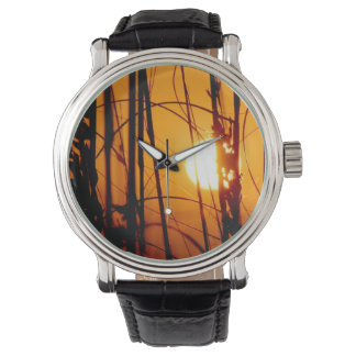 Ladies Tropical Sunset Watch