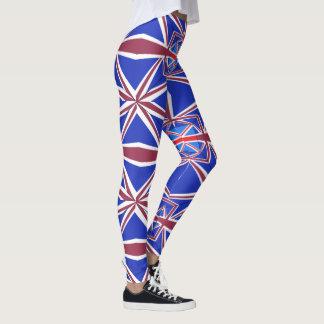 Ladies Union Jack Leggings