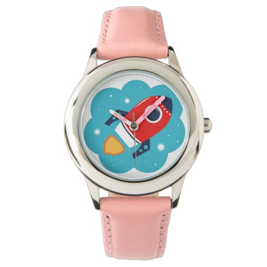Ladies watch with Illustration