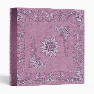 Ladies Western Bandana Notebook Binder