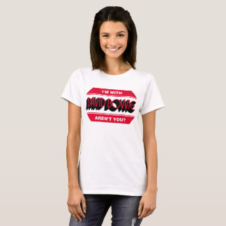 Ladies White Duke T-Shirt