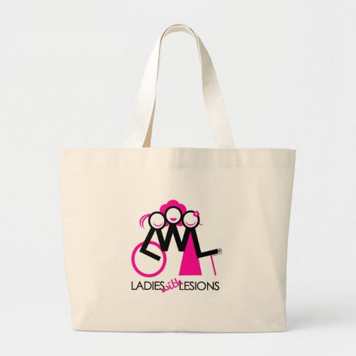 Ladies With Lesions Jumbo Tote Bag