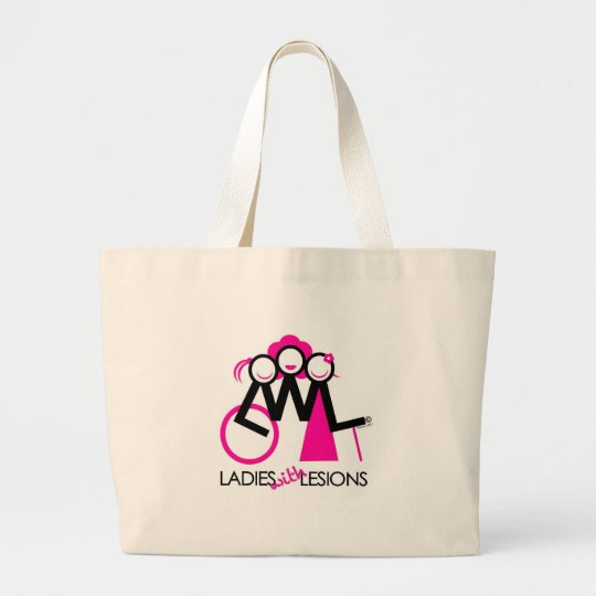Ladies With Lesions Large Tote Bag