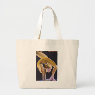 Lady Acrobat Large Tote Bag