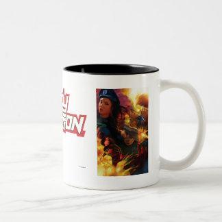 Lady Action Coffee Mug