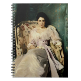 Lady Agnew of  Lochnaw Spiral Notebook