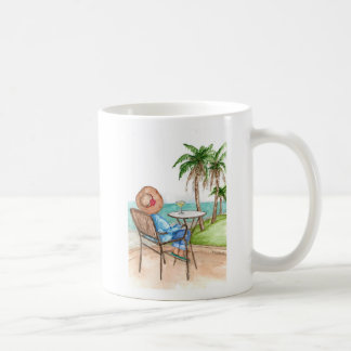 Lady and Margarita coffee mug