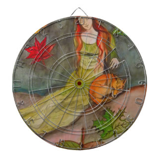Lady and The Fox Dartboard