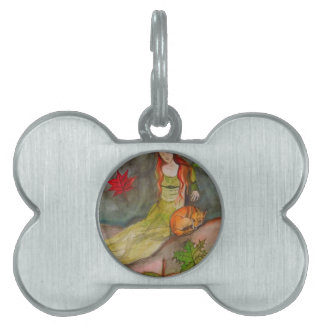 Lady and The Fox Pet Tag