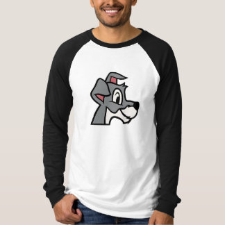 Lady And the Tramp head shot classic drawing T-Shirt