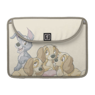 Lady and the Tramp Puppies Sleeves For MacBook Pro