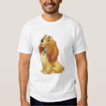 Lady and The Tramp's Lady smiling Disney T-shirt
