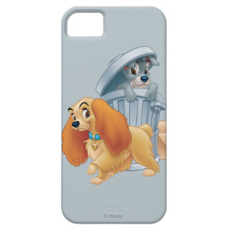 Lady and Tramp in the Trash iPhone 5 Cases