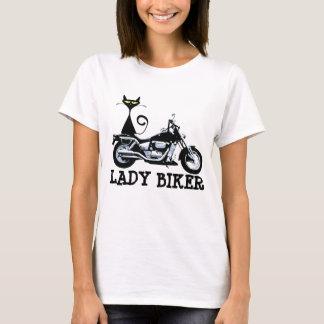 LADY BIKER, CAT T-shirts