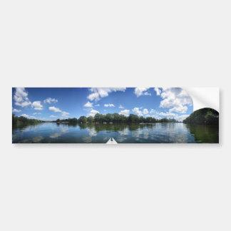 Lady Bird Lake Panorama - Austin - Texas Bumper Sticker