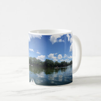 Lady Bird Lake Panorama - Austin - Texas Coffee Mug