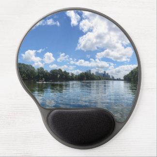 Lady Bird Lake Panorama - Austin - Texas Gel Mouse Pad