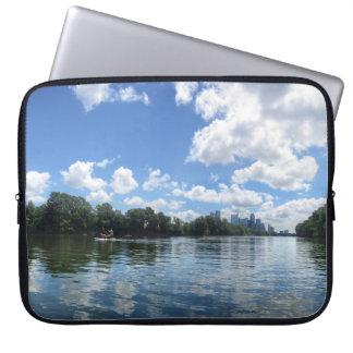 Lady Bird Lake Panorama - Austin - Texas Laptop Sleeve
