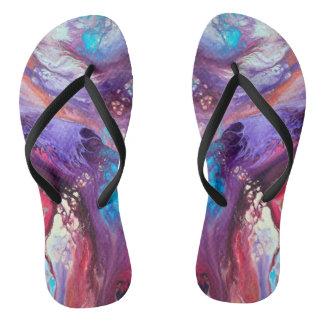 Lady Blue Shima Zori Flip Flops