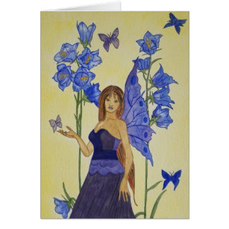 Lady Bluebell Card