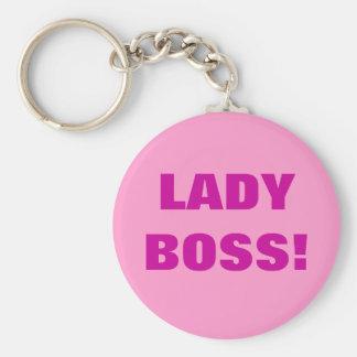 LADY BOSS! KEYCHAIN