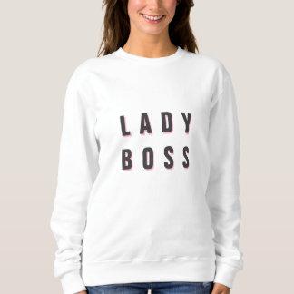 Lady Boss Merchandise Sweatshirt Template